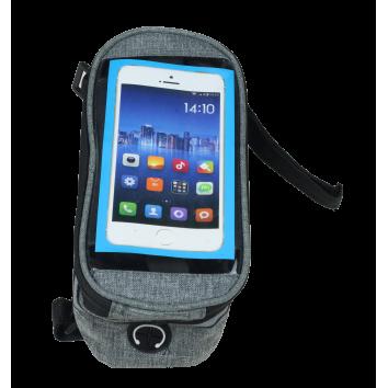 Велосипедная сумка с карманом для телефона