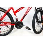 """Велосипед CrossBike Shark GIRL 26"""" 17"""" Красный-Белый-Черный"""