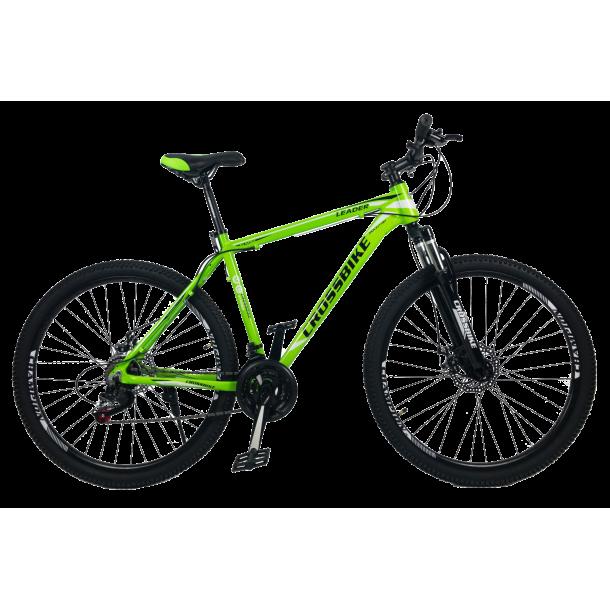 """Велосипед CrossBike Leader 29"""" 21"""" Неоновый зеленый"""