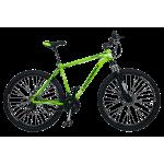 """Велосипед CrossBike Leader 29"""" 19"""" Неоновый зеленый"""