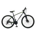 "Велосипед Fovarite Tracker 29"" 19,5"" Черный-Желтый"