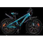 """Велосипед CrossBike Racer 24"""" 12"""" Бирюза-Черный"""