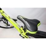 """Велосипед CrossBike Racer 24"""" 12"""" Неоновый желтый-Черный-Серебро"""