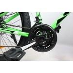 """Велосипед CrossBike Racer 24"""" 12"""" Зеленый-Черный"""