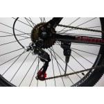 """Велосипед CrossBike Atlas 29"""" 20"""" Черный-Красный"""