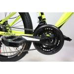 """Велосипед Cross Hunter 26"""" 15"""" Неоновый Желтый"""