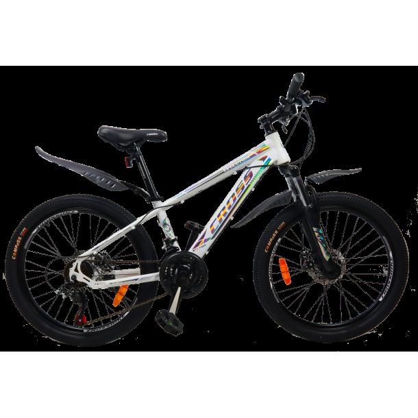 """Велосипед Cross Evolution 24"""" 12"""" Желтый"""