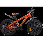 """Велосипед CrossBike Atlas 24"""" 12"""" Оранжевый-Черный"""