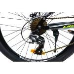 """Велосипед Cross Pioneer 26"""" 14"""" Черный-Красный"""