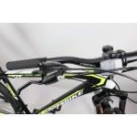 """Велосипед CrossBike Racer 29"""" 20"""" Черный-Неоновый желтый"""
