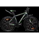 """Велосипед CrossBike Racer 29"""" 20"""" Серый-Зеленый"""