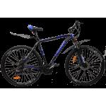 """Велосипед Cross Hunter 27.5"""" 17"""" Черный-Синий"""