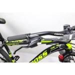 "Велосипед Cross Hunter 27.5"" 17"" Черный-Желтый"