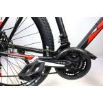 """Велосипед CrossBike Racer 29"""" 20"""" Черный-Красный"""