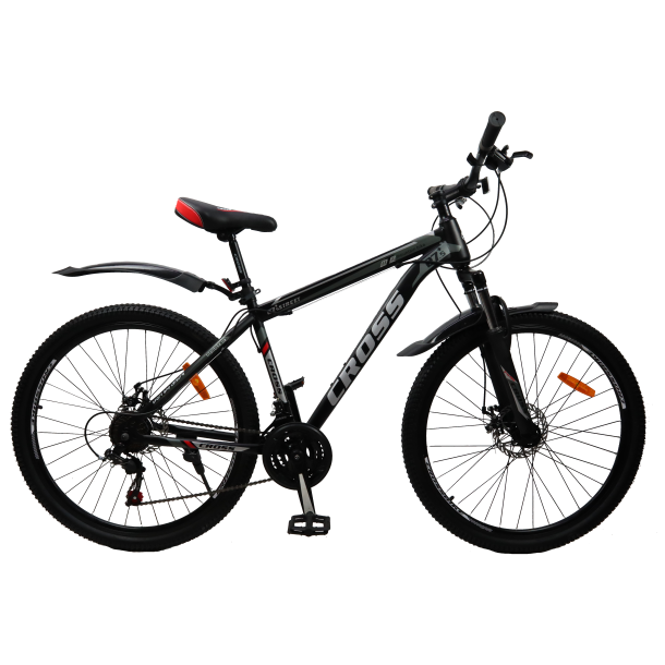 """Велосипед Cross Street 29"""" 20"""" Черный-Красный"""
