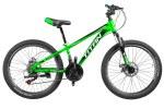 """Велосипед Titan Focus 24""""12"""" Зелёный-Черный"""