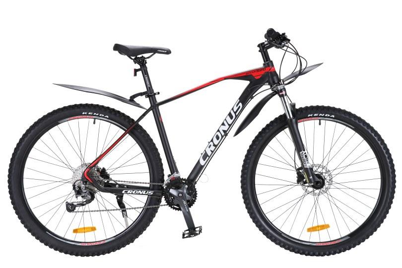 """Велосипед Cronus Rover520 29"""" 19,5"""" Чёрный-Белый-Красный"""
