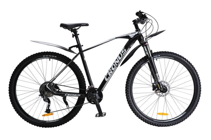 """Велосипед Cronus Rover520 29"""" 19,5"""" Чёрный-Белый"""