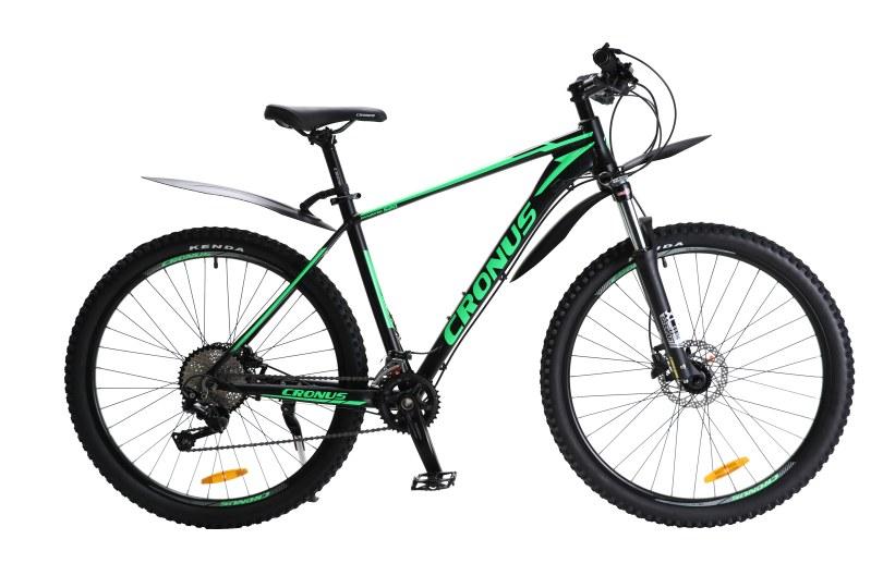Велосипед Cronus Dynamic Чёрный-Зелёный